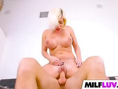 Sexy MILF Sara St Clair Gets Banged