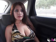 Susana shows us her new place and fucks a guy in it
