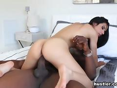 All, Big Tits, Brunette, Interracial