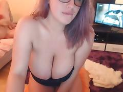 #2 MK busty big boobs cam girl masturbating