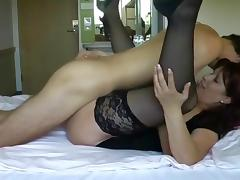 Amateur dude first experience with woman