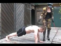 Military, Femdom, Gym, Gymnast, Military