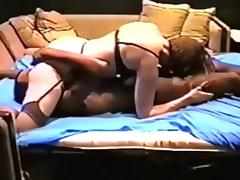 sexy wife in stockings tace bbc