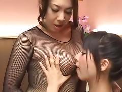 Best Japanese girl Yuka Osawa, Yumi Kazama in Hottest Cunnilingus, Fingering JAV scene