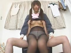 Best Japanese chick Shizuka Hasegawa in Hottest College JAV scene
