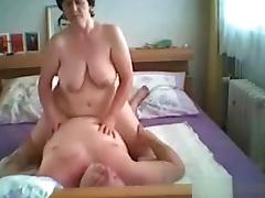Bedroom, Bedroom, Big Tits, Couple, Mature