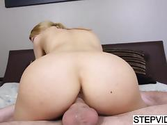Tiny step### Alina West gets wrecked