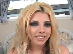 Exotic pornstars Shena Punk, Zoe Matthews and Alyssa Dior in horny cumshots, blonde xxx scene