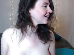 Pregnant hottie s cam show