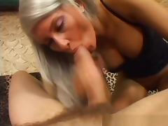 Exotic pornstar Brigitta Bulgary in horny blonde, lingerie porn video
