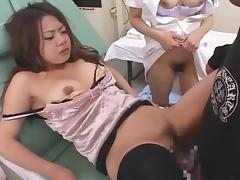 Best Japanese whore in Fabulous Nurse, Stockings JAV scene