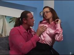 Boobed Cindy got anal for business