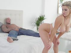Sienna Day teases a fellow before being shagged well