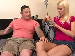 Lynna Nilsson always uses her perky tits whenever she wants a guy