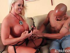 Screwing and creaming incredible pornstar Alura Jenson