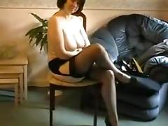 Amazing Homemade movie with Fetish, Stockings scenes
