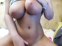 Latina milf with boobs with big nipples