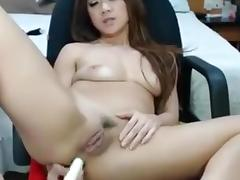 University, Amateur, Asian, College, Homemade, Masturbation
