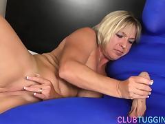 Blonde, BDSM, Big Tits, Blonde, Boobs, Handjob