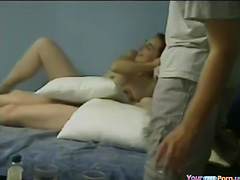 College Students Threesome