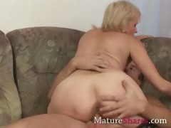 Mom, Aged, Amateur, Blonde, Cougar, Granny