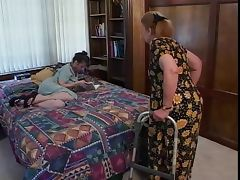 Grandma, Aged, Brunette, Cougar, Mature, Sex