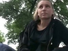 Hot amateur Czech girl picked up in the street fucked and payed