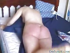Very extreme spanking for Bitch Janis