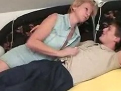 Czech mature woman with young dude porn video