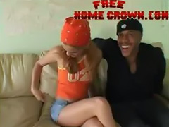 Black Gangster Interracial Porn Fucks Teen White Beauty