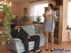 Banging a businesswoman