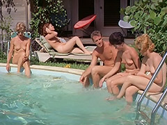 1960, Ass, Babe, Blonde, Classic, Group