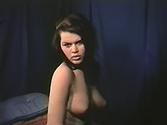 Charming Creamy Skinned Babes Posing 1960 porn video