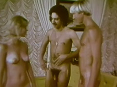 Beautiful Blonde Picks who to Fuck 1960 porn video