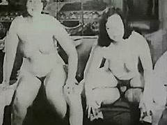 Vintage Swingers Exchange Fuck Partners 1920 porn video