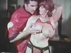 Candy Samples Big Boobs Wanted by Her Lover 1970 porn video