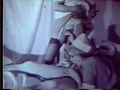 Sexy Nurses Healing Sick Patient with Sex 1950 porn video