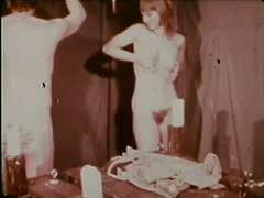 Two Mistresses Dominate a Slave 1960 porn video