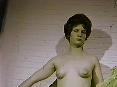 Part Time Sex Model and Secretary 1960 porn video