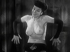 Gorgeous Stripper Gives a Hot Striptease 1950 porn video