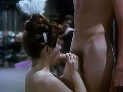 Hot Penetration on the Backstage 1970 porn video