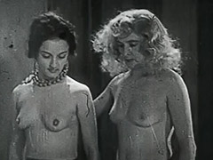 3 Horny Girls in a Guy's Dream 1950
