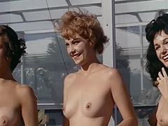 Nude Chicks Relax at a Nudist Resort 1960 porn video