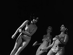 Dancing and Creaming Their Pussies 1960 porn video