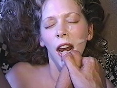 Cum Loving Hairy Pussy Babe is Being Fucked Both Ways just to get a Fine Dose of Cum porn video