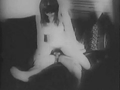 Couple Fucking at Night in Pairs 1950 porn video