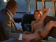 Sex addicted Chick Fucks in a Bus 1970 porn video