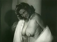 Shameless Harlot Posing all Night Long 1950 porn video