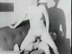 Plump MILF Fucked by Young Man 1950 porn video