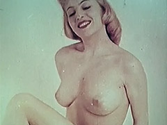 Hot Sweetie Shows Us Her Tight Body 1950 porn video